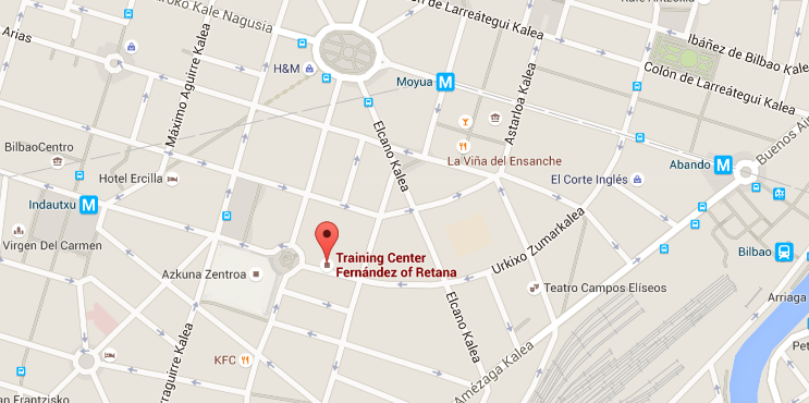 Training Center - Google maps
